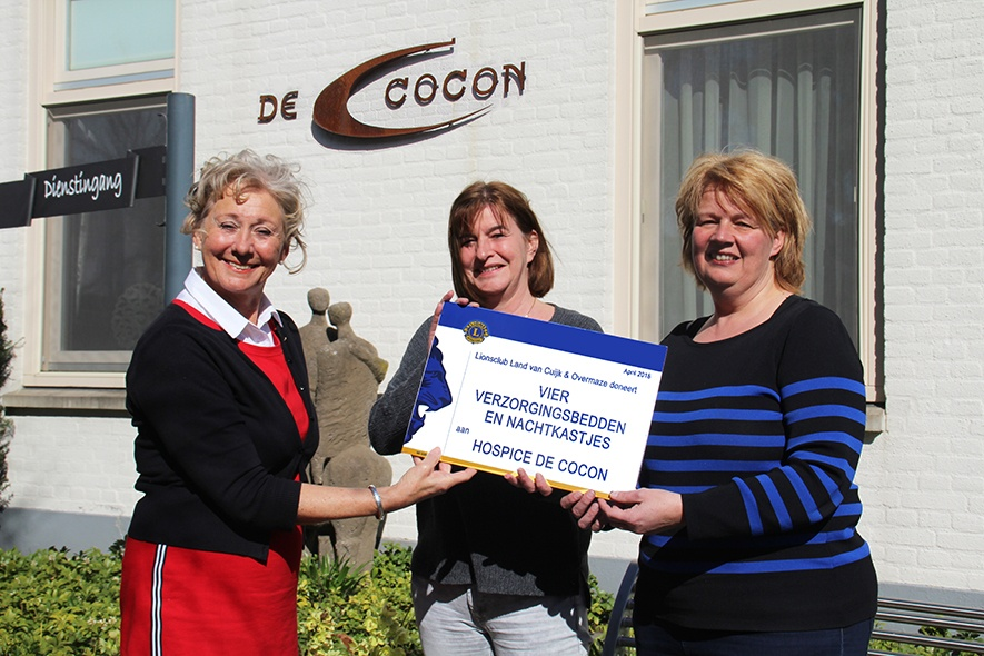Lions benefiet Wijnavond resulteert in vier verzorgingsbedden voor Hospice de Cocon.