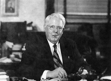Melvin Jones is de oprichter van de wereldwijde Lions organisatie. Hij richtte de Lions op in 1917.